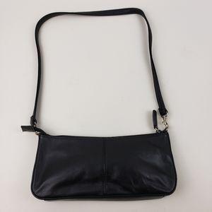 Giani Bernini Black Leather Convertible Cl…